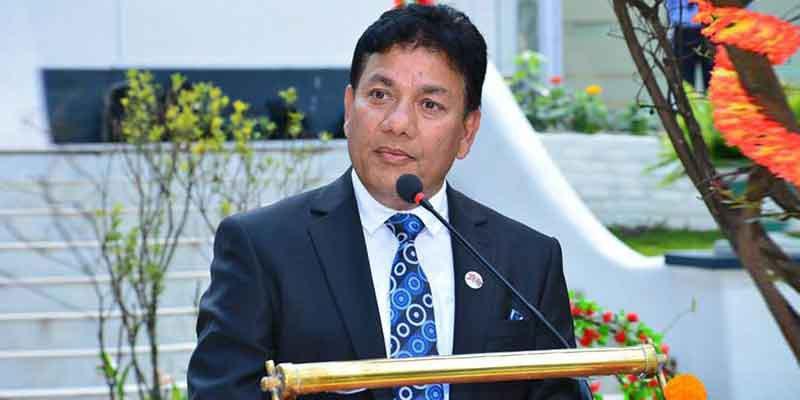 सुमार्गीको फ्रेञ्च दूतावासको जग्गाको अख्तियारमा फाइल उघ्रँदै