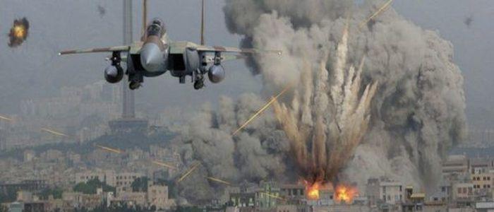 हवाई आक्रमणमा दश लडाकू मारिए