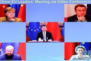 चीन र यूरोपबीच लगानी सन्धिसम्बन्धी सम्झौता-वार्ता पूरा
