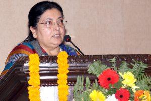 नेपालीबीच आपसी एकता र सद्भाव अभिवृद्धि होस्ः राष्ट्रपति
