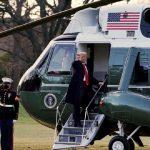 ट्रम्प ह्वाइट हाउस छोडेर आफ्नो घर फ्लोरिडातर्फ लागे