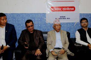 सामाजिक सुरक्षा भत्ता पाँच हजार पु¥याउँछौँ : पूर्वप्रधानमन्त्री नेपाल