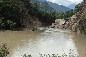 मस्र्याङ्दी नदी थुनियो