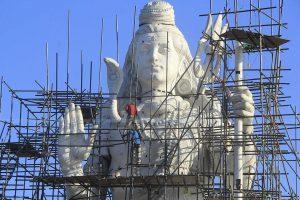 ५२ फिट अग्लो शिवको मूर्ति धार्मिक पर्यटकलाई आकर्षण