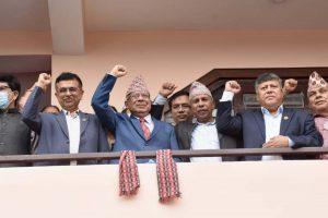 एक साताभित्र सरकारले पूर्णता पाउँछ : अध्यक्ष नेपाल